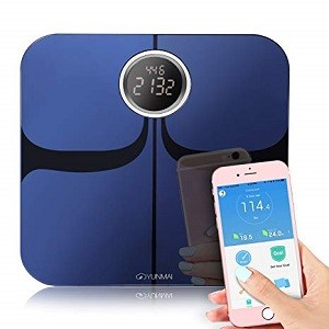 bilancia Bluetooth bilancia intelligente BMI accurata bilancia di connessione elettronica digitale adatta per iOS Android iTeknic Bilancia Impedenziometrica bilancia digitale personale