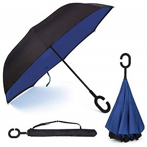 Migliori ombrelli antivento pieghevoli, grandi, piccoli