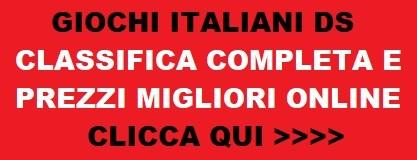 prezzi e recensioni migliori giochi italiani nintendo ds