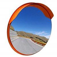 Specchio stradale convesso e parabolico