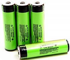 opinioni migliori batteria 18650 in vendita amazon